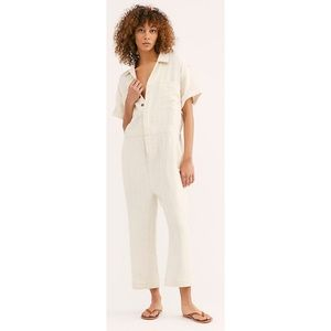 Free People Pants - Free people totally crushin jumpsuit